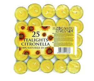 Citronella-Tealight-Candles-Mosquito-Fly-Insect-Repeller-Tea-Lights-Pack-of-25
