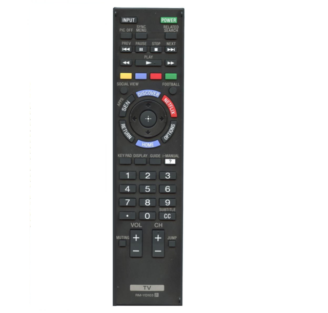 REMOTE CONTROL FOR SONY BRAVIA TV KDL-26EX302 KDL-32BX300 - REPLACEMENT LCD/LED