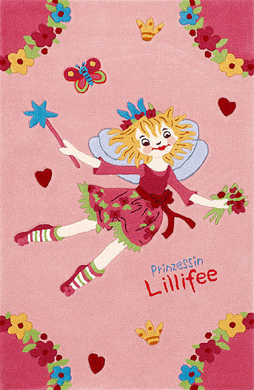 Princesse Lillifee tapis 2936-01 110x170 cm Nouveau