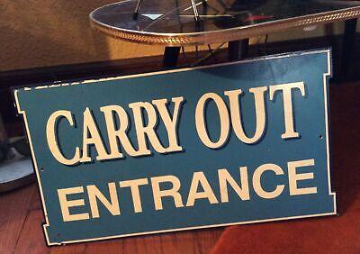 DONUTS Restaurant Diner Food Vintage Look Metal Sign 106180068002