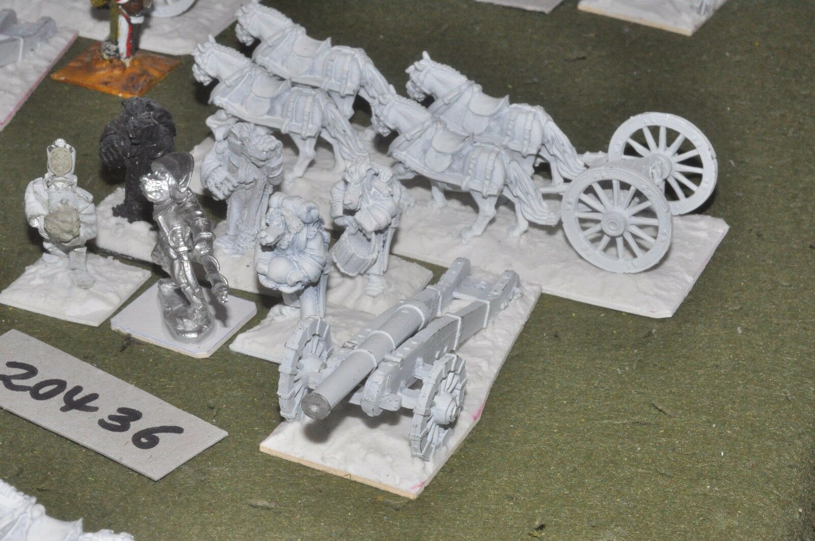 28mm flintloque fantasy Finklestien artillery (as photo) {16} (20436)