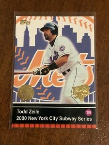 2000-World-Series-Topps-Baseball-Base-Card-5-Todd-Zeile-New-York-Mets