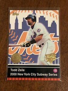 2000 World Series Topps Baseball Base Card #5 - Todd Zeile - New York Mets