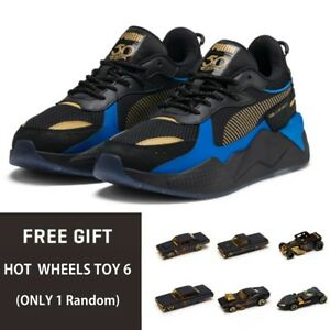 timeless design f4c69 bd407 Image is loading PUMA-RS-X-TOYS-HOTWHEELS-BONE-SHAKER-Sneakers-
