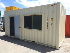 Work shed site office 20 high cube new container for Portable shed office