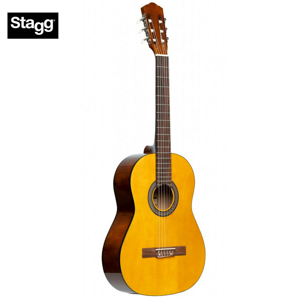 Blue NEW Stagg SCL50 3//4-BLUE 3//4 Size Student Nylon Classical Acoustic Guitar
