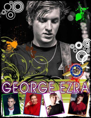 "Movie Star/"" Personalized T-shirts George Ezra /""Rock"