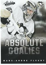 2013-14 Panini Absolute Hockey Boxing Day MARC ANDRE FLEURY NHL Goalies #6