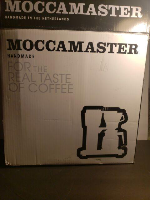 Technivorm-Moccamaster KBG741-AO Coffee Maker NEW OPEN BOX