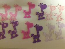 Cardmaking jirones de encaje dado corta Espuma jirafas 5x6.4cms Qty 12-3 X 4 Paq/PPLE