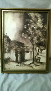 Vintage Fritz Cedon Painting