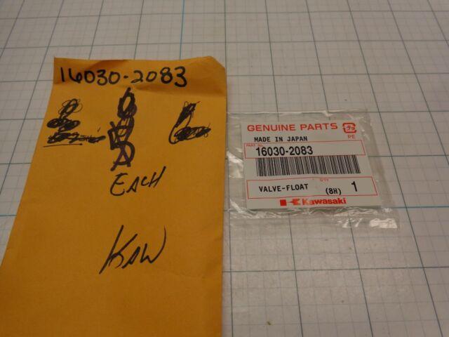 Genuine  OEM  Kawasaki  VALVE-FLOAT    Part#  16030-7004