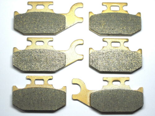Front Rear Brake Pads For Can-am Outlander Max 650 XT 2007 2008 2009 2010 SET RE