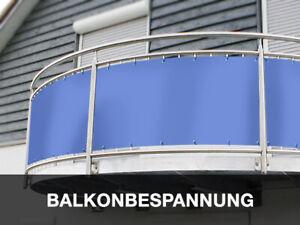 Balkon Sichtschutz Balkonumrandung Aus Lkw Plane 600 Gm² Nach Maß
