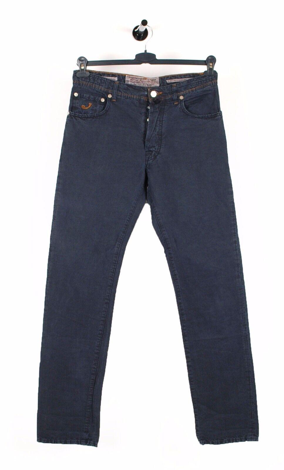 Jacob Cohen J610 Selten Luxus Denim Blau Herren Hose Jeans in Größe W32