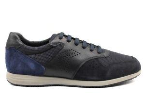 Geox-ARSIEN-U926NA-04214-Blu-Sneakers-Scarpe-Uomo-Calzature-Casual