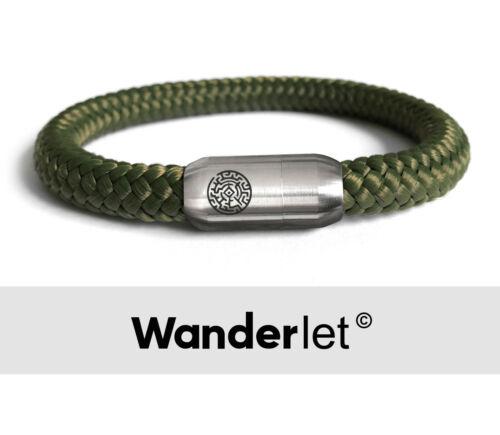 Segeltau Handgefertigt Surferarmband*** ***WANDERLET HERREN DAMEN Armband 8 mm
