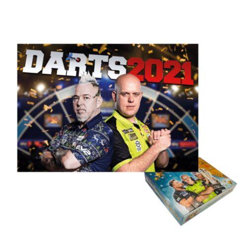 Dart Kalender 2021 /& Adventskalender 2020 Darts im Paket
