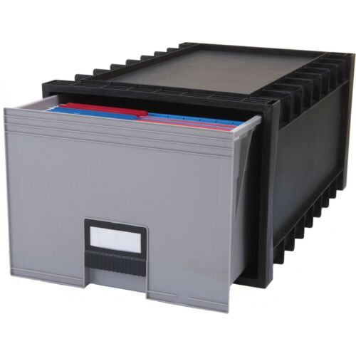 "Stackable Heavy Duty 11.4/"" Height X 15.1/"" Width X Storex Archive Drawer"