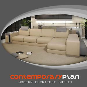 Ultra modern italian furniture Comfortable Image Is Loading Ultramodernitalianleathersectionalsofacontemporary Design Ny Furniture Outlets Ultra Modern Italian Leather Sectional Sofa Contemporary Design