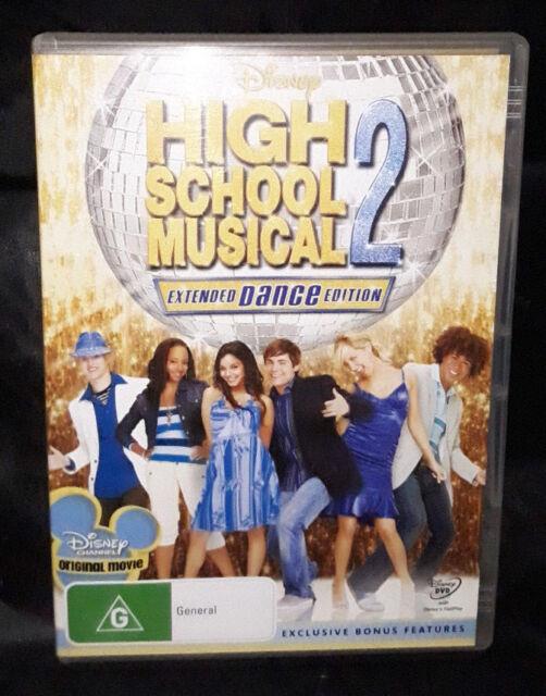High School Musical 2 - Extended Dance Edition (DVD, 2008, 2-Disc Set) Region 4