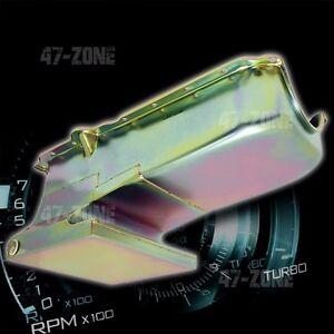 Zinc 6QT Drag Racing Oil Pan For 62-67 Chevy II Nova 86-02 SBC 283-400 V8