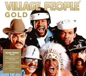 THE-VILLAGE-PEOPLE-Gold-Very-Best-Of-Greatest-Hits-3-CD-NEW-Sealed