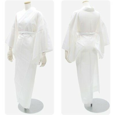 New Japanese Woman's Kimono JYUBAN White Long from Japan