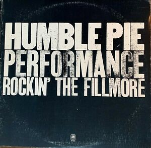 HUMBLE-PIE-Pre-Owned-LP-ROCKIN-039-THE-FILLMORE-RARELY-PLAYED
