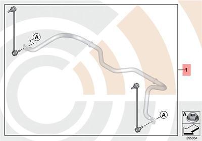 SuperPro Front Antiroll Sway Bar Adjustable Drop Links R50 R53 R55 R56 R57 Mini