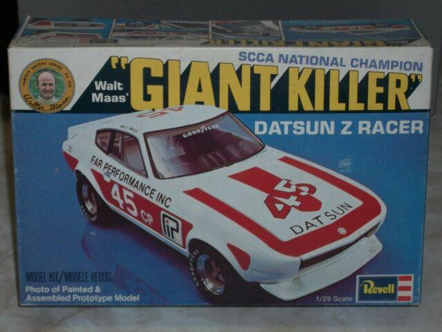 Revell H1434 Walt Maas SCCA Giant Killer Datsun Z Racer 1/25 Model Car  Mountain