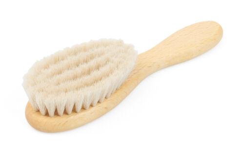Bio-Haarbürste Babyhaarbürste Babybürste Naturhaarbürste Naturborsten NEU!