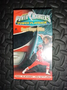 Power-Rangers-Power-Playback-Classic-Ranger-Edition-Red-Stored-Well-working