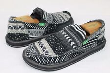 item 4 SANUK DONNY CHILL SIDEWALK SURFER SHOES BLACK NORDIC MENS SIZE 9 US -SANUK  DONNY CHILL SIDEWALK SURFER SHOES BLACK NORDIC MENS SIZE 9 US