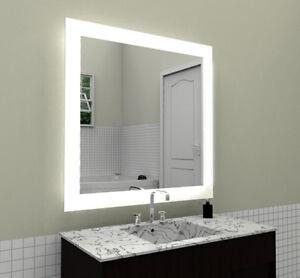 Badspiegel G16 mit LED Beleuchtung Badezimmerspiegel Bad Spiegel ...