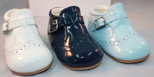 Mark by Sevva Chaussures Bébé /& Garçons Espagnol Style Romani brevet Boucle Bottes