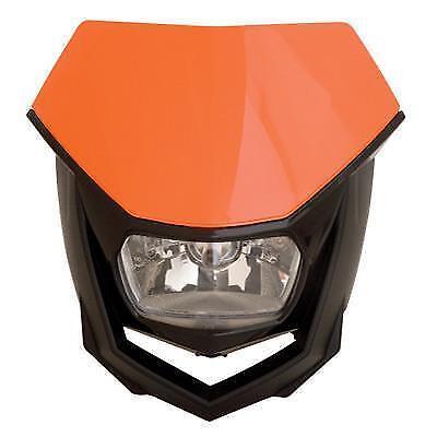 8657400004 Polisport Orange` Halo Headlight