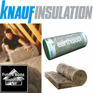 knauf earthwool loft roll insulation 44 combi cut various. Black Bedroom Furniture Sets. Home Design Ideas