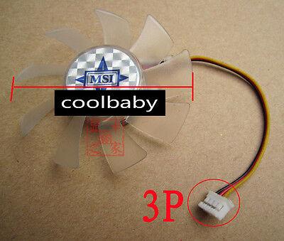 SAN ACE 60 109R0648J4D04 Graphics card cooling fan DC48V  0.14A 3Pin