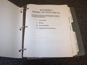 1999-2003 Peterbilt Model 387 Electrical Wiring Diagram ...