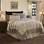 ELYSEE-QUILT-SET-choose-size-amp-accessories-black-french-country-creme-VHC-Brands thumbnail 4