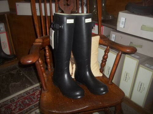 Size Womens Wellingtons Tall Side 7 Halifax In Hunter Norris Black Adjustable 5Ivpxq0pw