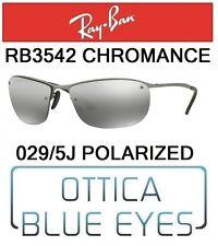 c71e627906e Occhiali da Sole RAYBAN 3542 029 5J CHROMANCE Sunglasses Ray Ban POLARIZED  SPORT
