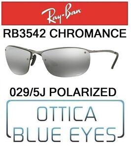 9d32839be4c Caricamento dell immagine in corso Occhiali-da-Sole-RAYBAN-3542-029-5J- CHROMANCE-