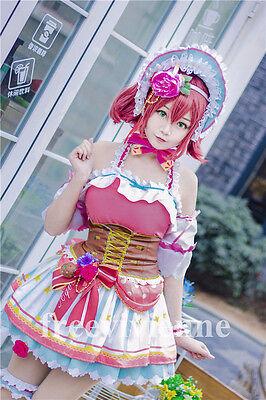 LoveLive Sunshine Aqours Ruby Maid Chocolate Valentine/'s Day Cosplay Costume