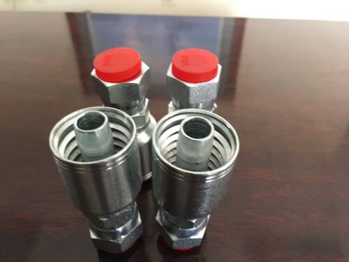 """3//4/"""" x 120/"""" Hydraulic Hose Assembly 2 wire with 2 Female JIC Swivels 5//8 thread"""