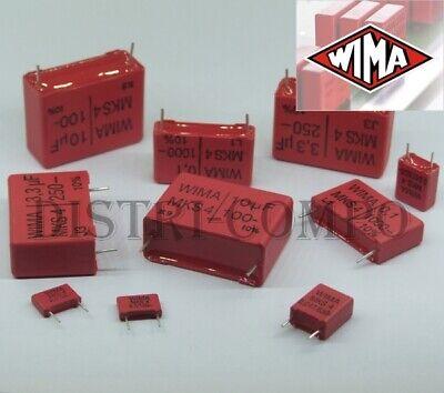 Condensateur Wima MKS-4 100V-//63V valeur au choix PRE-ORDER 5-7 DAYS