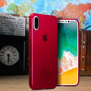 Apple-iPhone-10-Impact-Displacement-Genuine-Composite-Gel-TPU-Red-Case