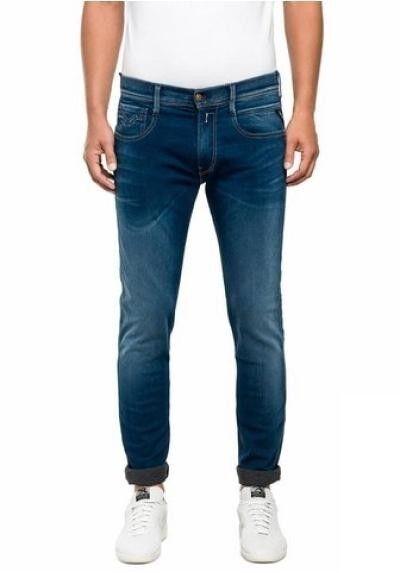Replay Anbass M914 Jeans W32-w33 L32 New Men's Denim Stretch Trousers Hyperfree