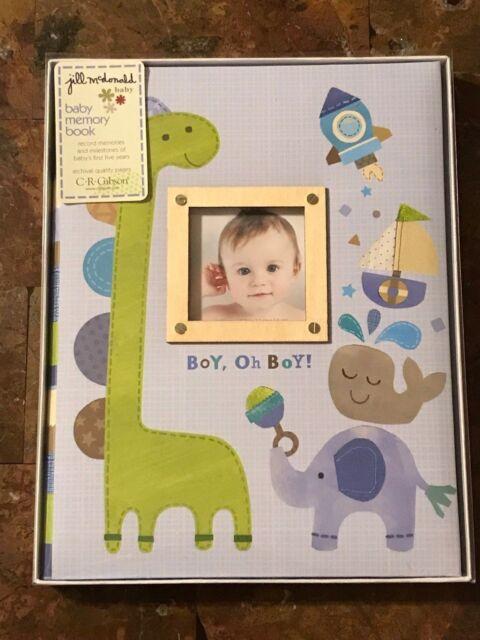 Boy Oh Boy CRG Memory Book